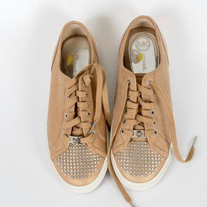 NWT Michel Kors studded leather runners - 9M